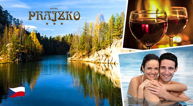 Fotka zľavy: Aktívny relax v nádhernom prostredí Adršpašska v Hoteli Prajzko*** už od 109 € na 3, 4 alebo 6 dní s polpenziou, masážou alebo vstupom do aquaparku a ochutnávkou varených vín. Dieťa do 5 rokov zdarma.