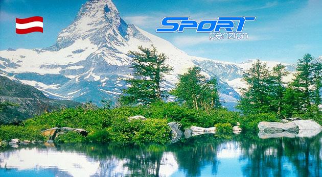 Fotka zľavy: Vychutnajte si kvalitnú lyžovačku v rakúskych Alpách - 3 dni v českom Penzióne Sport Alpy len za 89€ pre dvoch s raňajkami. Pobyt pre dieťa do 4 rokov zdarma a v blízkosti nájdete aj termálne kúpele.