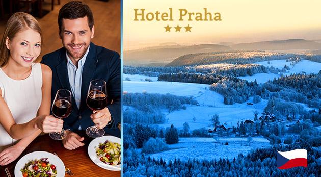 Fotka zľavy: Pobyt pre dvoch v rozprávkovom prostredí už od 82 € v Hoteli Praha*** v Broumove v severovýchodných Čechách počas celej sezóny 2016. To musíte zažiť!