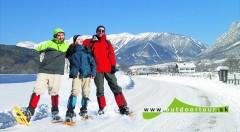 Zľava 40%: Doprajte si nezabudnuteľné zimné dobrodružstvo v podobe snežnicovej túry na dvojtisícový vrchol Heukuppe len za 59 € vrátane dopravy, služieb skúseného sprievodcu a zapožičania snežníc.