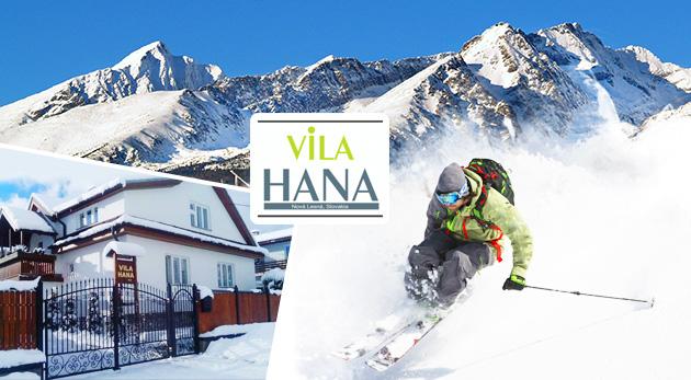 Fotka zľavy: Zimná idylka v Tatrách vo Vile Hana v Novej Lesnej na 3 alebo 4 dni už od 25€ s raňajkami. Užite si široké možnosti pre zimné športy!