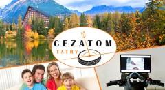 Zľava 52%: Hodinový vstup do zábavného centra CEZATOM TATRY na Štrbskom Plese len za 2,90 €. Možnosť vyskúšať si streľbu na laserovej strelnici či jazdu na motocyklovom trenažéri! Deti do 5 rokov vstup zadarmo.