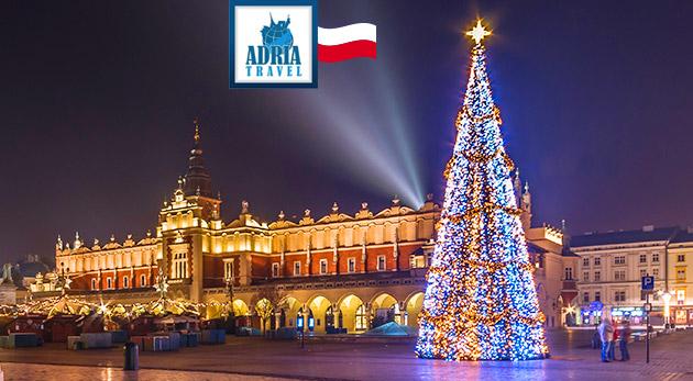 Fotka zľavy: Krakov ako na dlani v čase adventu len za 22 €. Návšteva kráľovského mesta v predvianočnom období!