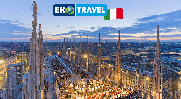 Fotka zľavy: Letecký zájazd do svetovej mekky módy - Milána na predvianočné nákupy len za 249 € s letenkou, ubytovaním v 4* hoteli, raňajkami a až 23 kg batožinou.