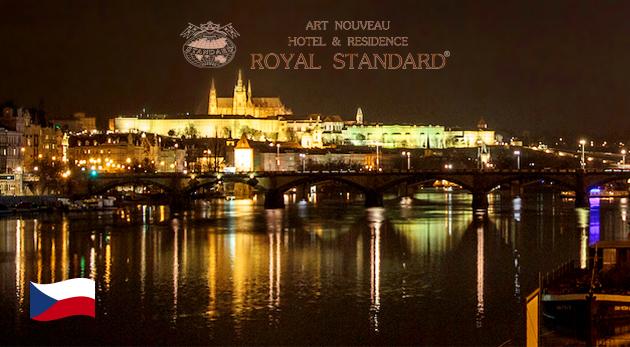 Fotka zľavy: Romantika vo dvojici s výhľadom na Pražský hrad! Hotel & Residence ROYAL STANDARD*** už od 33 €. K tomu raňajky a dieťa do 10 rokov zadarmo!