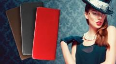Zľava 50%: Elegantné dámske peňaženky vyrobené z kvalitnej kože, s množstvom priehradiek len za 9,90 €. Na výber zo 4 elegantných farieb. Staňte sa dámou v pravom slova zmysle!