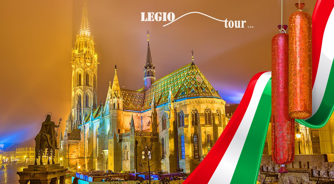 Fotka zľavy: Jednodňový poznávací zájazd do Budapešti za 19,90 € vrátane dopravy a prehliadky mesta so sprievodcom a návštevou voňavého Festivalu Mangalice.