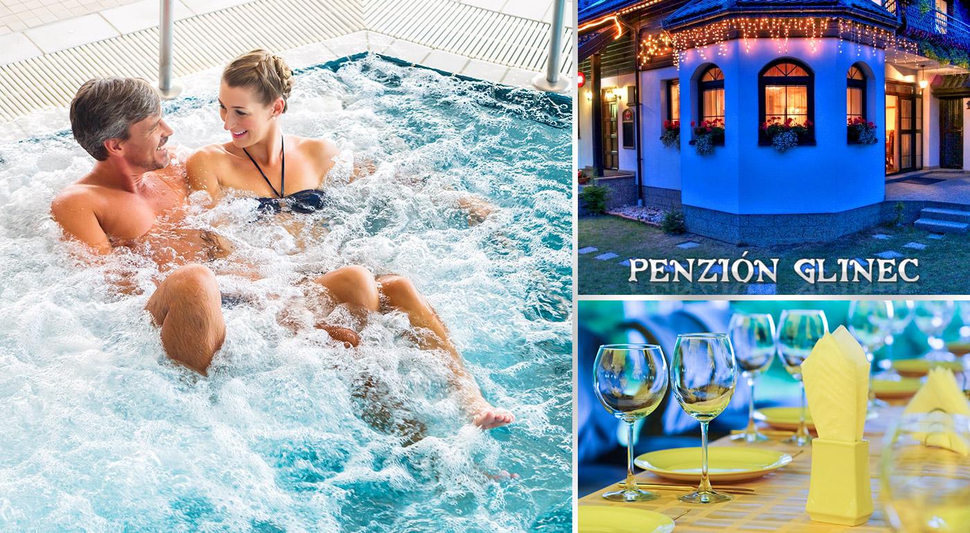 Fotka zľavy: Relax na 3, 4 alebo 5 dní v centre kúpeľného mesta Vyšné Ružbachy v Penzióne Glinec už od 73 € s raňajkami alebo polpenziou. Deti do 15 rokov zadarmo!
