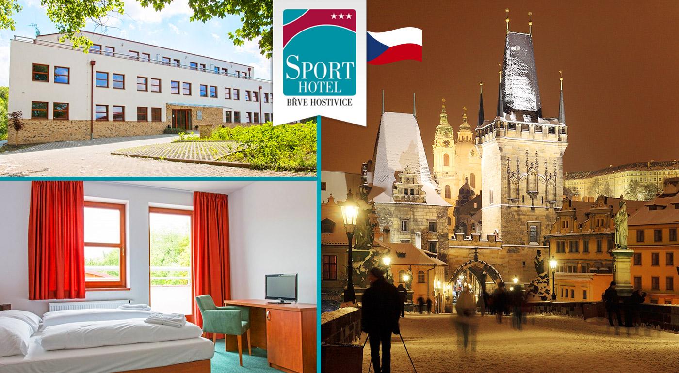 Fotka zľavy: Užite si skvelé 3 dni neďaleko krásnej Prahy v Sporthoteli Břve Hostivice*** iba za 49 € s raňajkami, drinkom a večerou.