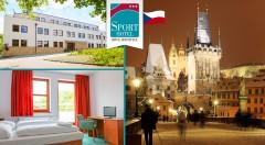 Zľava 29%: Užite si skvelé 3 dni neďaleko krásnej Prahy v Sporthoteli Břve Hostivice*** iba za 49 € s raňajkami, drinkom a večerou.