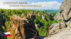 Zľava 41%: Rodinný výlet do lona prírody na 3, 4, 5 alebo 6 dní s polpenziou a ubytovaním v moderných chatkách Zděřina pri Adršpachu už od 49 €. Naberte stratenú energiu v tichu a zeleni!