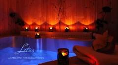Zľava 40%: Vstup do vírivky a sauny s osviežujúcim nápojom, alko nápojom, vodnou fajkou alebo pizzou už od 17,90 € pre dvoch v ružinovskom Lotus aromawellness & massages! Užite si dokonalý relax!