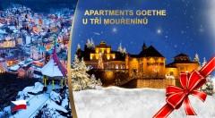 Zľava 30%: Zažite Vianoce v Karlových Varoch v rámci pobytu v Apartmánoch Goethe U Tří mouřenínů v srdci mesta už od 144 € pre dvoch s raňajkami. K tomu kopec bonusov!