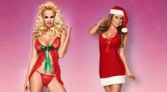 Zľava 60%: Prekvapte svojho partnera netradične - nahoďte sa do sexi čipkovanej košieľky a tango nohavičiek alebo vianočného kostýmu Santa Lady už od 9,99 €. Pre ešte krajšie Vianoce!