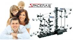 Zľava 56%: Fantastická guličkodráha SpaceRail - jedinečná konštrukčná stavebnica už od 14,99 €, ktorá poskytuje chvíle plné zábavy pre celú rodinu. Na výber 5 levelov s rôznymi dĺžkami dráhy.