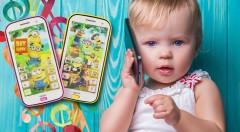 Zľava 42%: Zábavný detský telefón s dotykovým displejom len za 6,99 € zabaví vaše ratolesti na celé hodiny! So svojimi obľúbenými kreslenými hrdinami - Mimoňmi si teraz budú volať celý deň! Na výber v 2 farbách