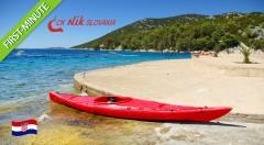 Zľava 42%: Využite first minute ponuku a užite si jedinečnú chorvátsku atmosféru počas 8 dní v mestečkách Vodice alebo Tribunj už od 70 €. Ubytovanie blízko mora. Ideálna dovolenka pre rodinky s deťmi!