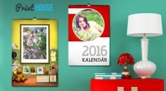 Zľava 50%: Prežite celý nastávajúci rok 2016 so svojimi najmilšími vďaka výnimočným nástenným kalendárom s vlastnými fotografiami už od 4,49 €! Na výber rôzne formáty a motívy. Akcia 2+1 zadarmo!