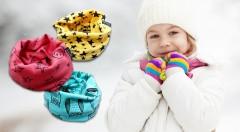 Zľava 45%: Potešte vaše deti štýlovým a praktickým nákrčníkom. Vynikajúco hreje, je z príjemného, elastického materiálu v 3 štýlových vzoroch. Vyberte si z rôznych farieb len za 4,90 €!