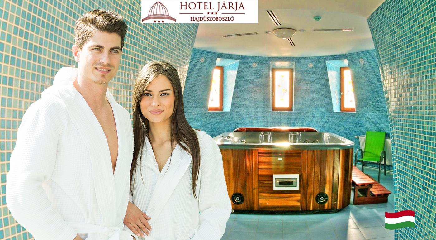 Fotka zľavy: Oddychové 3 dni pre dvoch v Hoteli Járja*** v Maďarsku v blízkosti svetoznámych liečebných kúpeľov len za 99 € s polpenziou a voľným vstupom do wellness a kúpeľov.