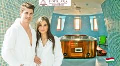 Zľava 50%: Oddychové 3 dni pre dvoch v Hoteli Járja*** v Maďarsku v blízkosti svetoznámych liečebných kúpeľov len za 99 € s polpenziou a voľným vstupom do wellness a kúpeľov.