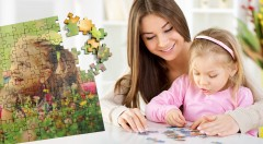 Zľava 70%: Prekvapte svojich najbližších originálnym darčekom. Jedinečné drevené puzzle z vlastnej fotografie už od 5,90 € presne podľa vašich predstáv. Na výber z troch rozmerov.