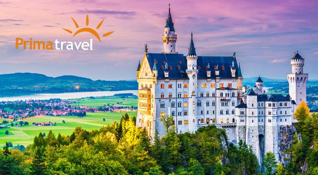 Fotka zľavy: Rozprávkový zájazd do Nemecka - spoznajte najkrajšie bavorské zámky počas 2 dní len za 119 €. V cene doprava, ubytovanie v hoteli s raňajkami a služby sprievodcu.