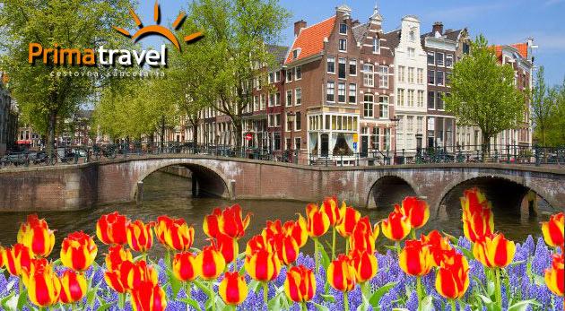 Fotka zľavy: Spoznajte krásne Holandsko počas 4-dňového zájazdu s CK Prima Travel len za 139 € na osobu. Navštívte kúzelnú výstavu kvetov, tradičný skanzen a nespútaný Amsterdam!