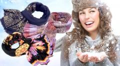 Zľava 43%: Krásne dámske pestrofarebné šály vdýchnu vášmu outfitu život a farbu. Vyberte si z množstva farieb a vzorov ten váš za super cenu už od 3,90 €! Cíťte sa šik vďaka jednému štýlovému doplnku.