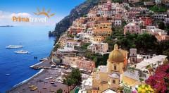 Zľava 30%: Spoznajte jedinečný kúsok južného Talianska! 5-dňový zájazd na svetoznáme miesta len za 199 € vám dá možnosť nahliadnuť do čarovnej atmosféry Kampánie s výnimočnou kultúrou.