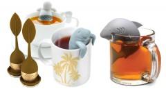 Zľava 71%: Roztomilé sitká s originálnym dizajnom už od 2,90 € zaručia, že si čaj budete robiť neustále. Na výber panáčik, žralok, tuleň alebo čajový lístok.