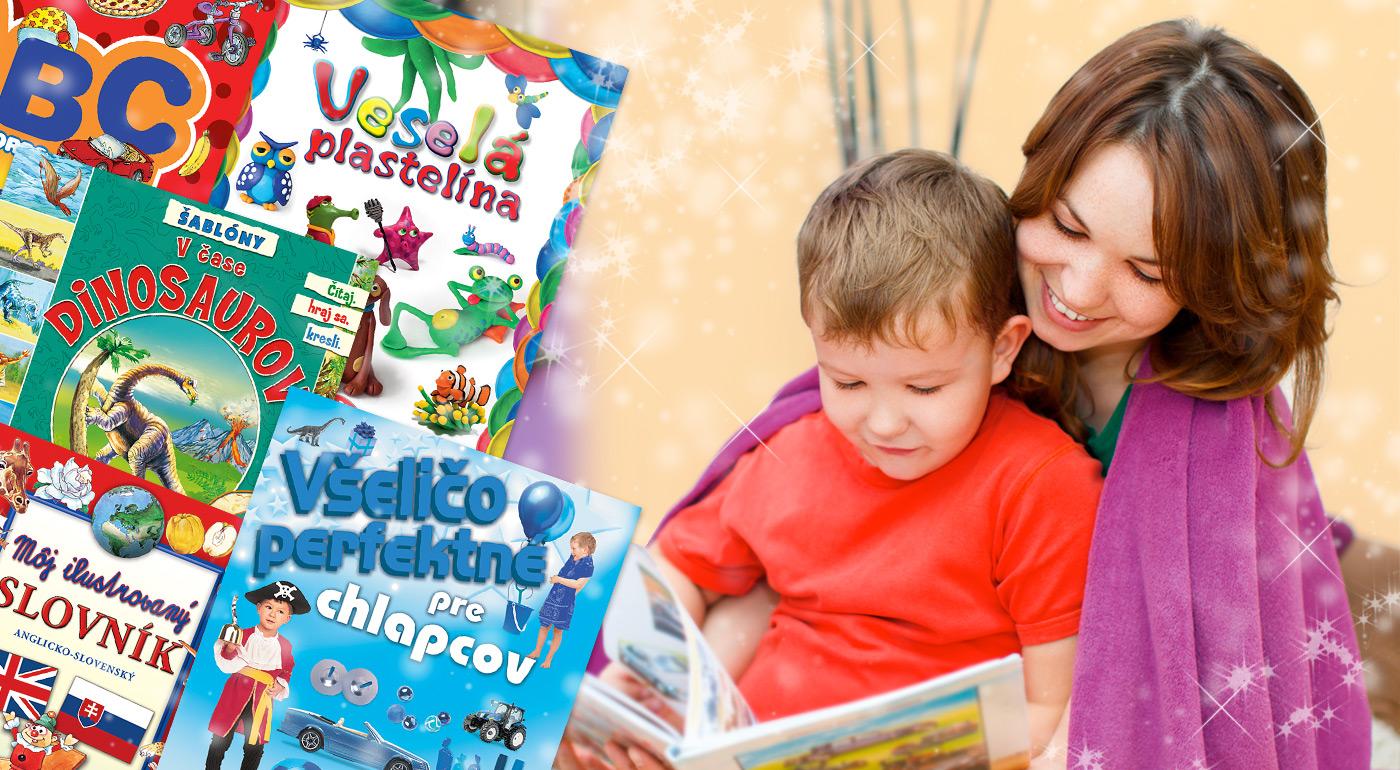 Zľava  Množstvo nádherných kníh pre deti
