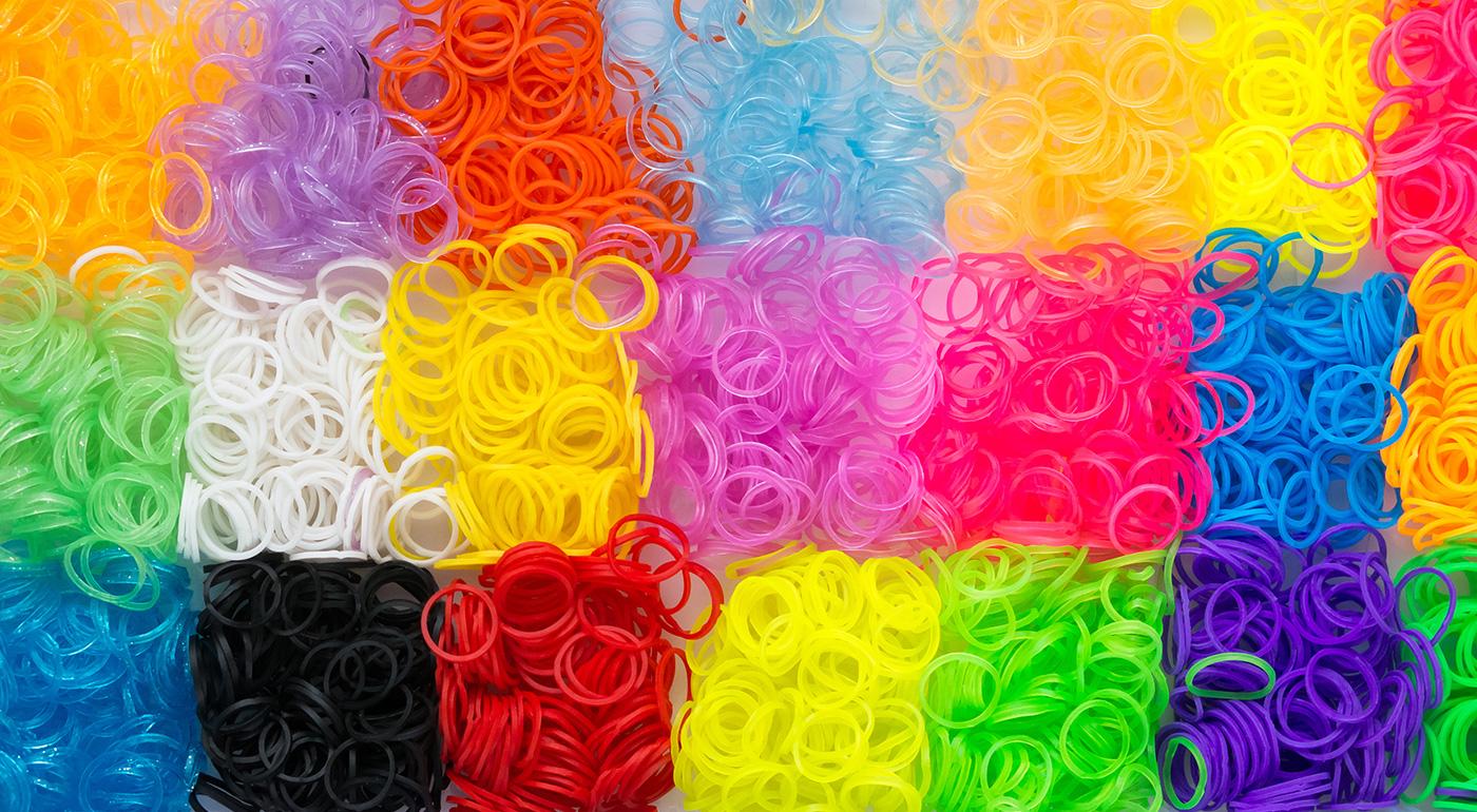 Zľava  Kreatívne sady gumičiek Loom Bands