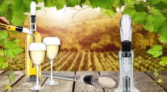 Zľava 40%: Vaše víno bude mať vždy tú správnu teplotu! Unikátny chladič vína 3v1 s aerátorom a odlievačom len za 8,99 €.