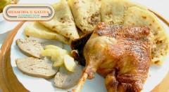 Zľava 48%: Chrumkavá domáca husacinka alebo kačacinka u Galika v Slovenskom Grobe už od 8,99 € pre 1 osobu s možnosťou take away. Pochutnajte si na skvelých hodoch.