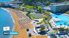 Zľava 25%: Oddýchnite si na čarovnom severnom Cypre počas 8 dní v luxusnom hoteli ACAPULCO***** pri pláži už od 359 € vrátane letenky, all inclusive light a transferom do hotela a späť!