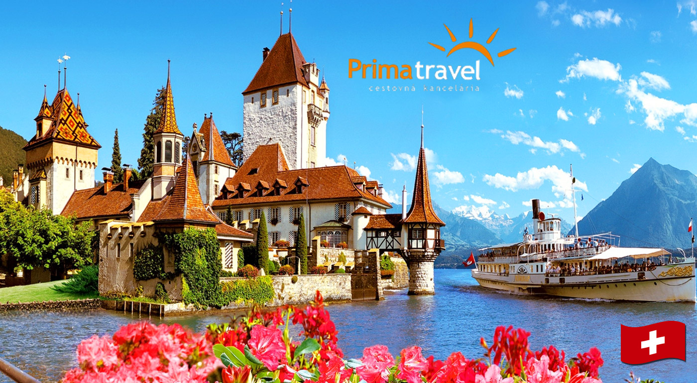 Fotka zľavy: Navštívte rozprávkové Švajčiarsko a nechajte sa očariť nádherným ostrovom kvetov Mainau počas 5-dňového zájazdu len za 199 € vrátane ubytovania s raňajkami, dopravy a služieb sprievodcu.