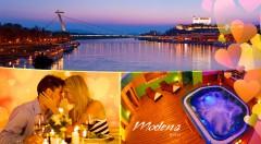 Zľava 33%: Romantický pobyt v Hoteli Modena*** v Bratislave s výhľadom na mesto pre dvojicu len za 74 €. V cene ubytovanie, raňajky, romantická večera a vstup do fitness. K tomu zľava na privátny wellness!