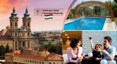 Zľava 43%: Plnohodnotná rodinná dovolenka na úpätí hôr vo Wellness Hotel Panoráma v Maďarsku s wellness len za 138 € pre dvojicu a jedno dieťa do 10 rokov. V cene je zahrnutá aj plná penzia chutných jedál.