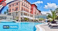 Zľava 40%: Nezabudnuteľná Veľká noc v luxusnom Grand Hotel Imperial**** na ostrove Rab len za 299 € s dopravou, ubytovaním, polpenziou a prehliadkou mesta!