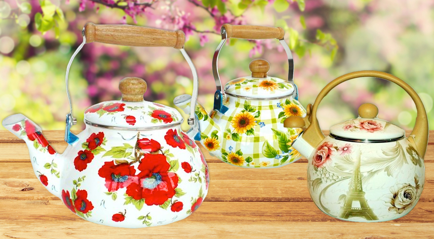 Fotka zľavy: Pozvite svojich priateľov na čajové popoludnie. Čajníky FRICO a EDENBERG už od 11,99 € v klasickom štýle vytvoria príjemnú atmosféru domova. Objem čajníka je až 2,2 litra. Na výber viac druhov.