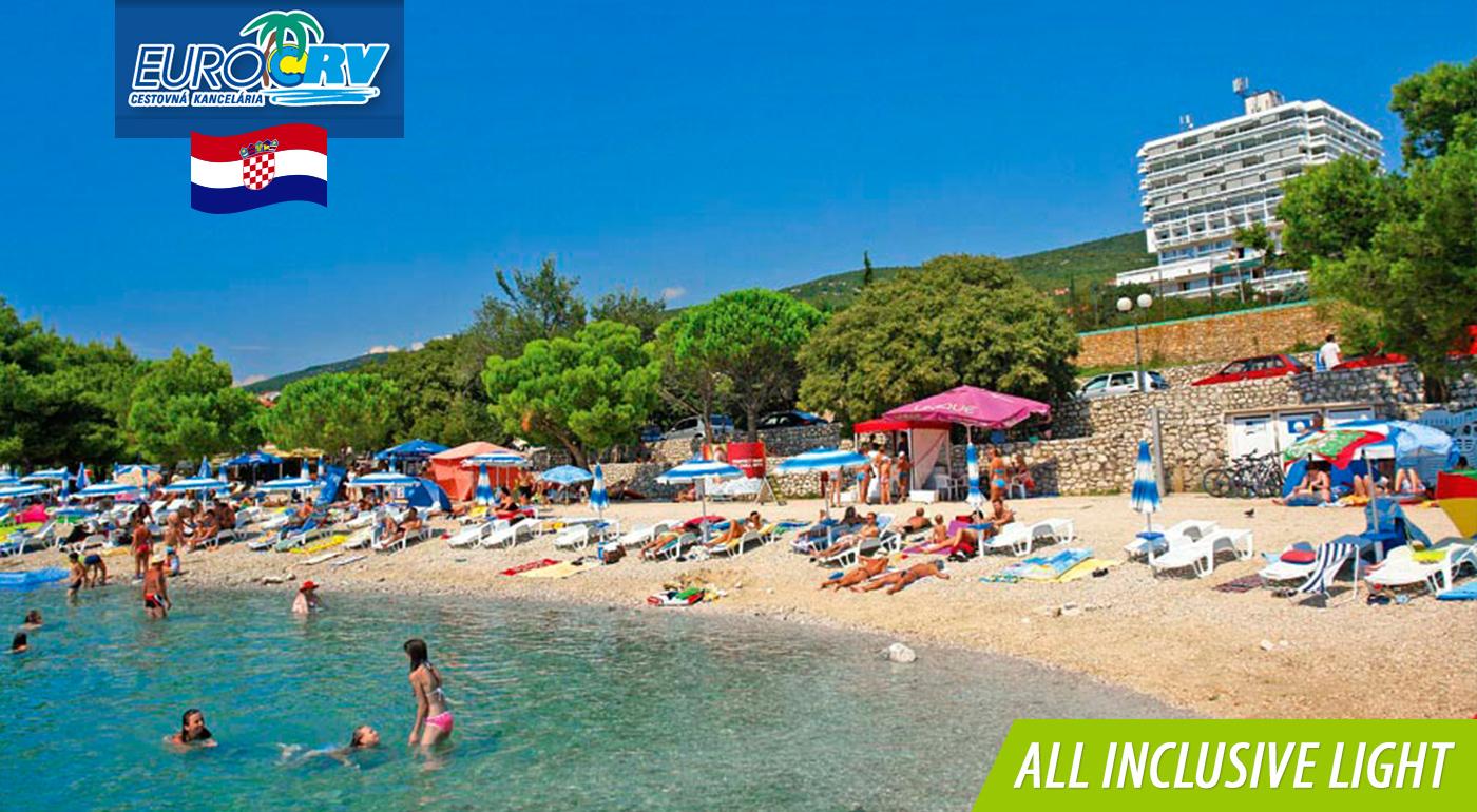Fotka zľavy: Chorvátska letná dovolenka v krásnej Crikvenici vo Vile Skoko** len 100 m od pláže iba za 275 € na 8 dní vrátane ALL INCLUSIVE LIGHT. Dieťa do 7 rokov zadarmo!