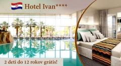 Zľava 17%: Nezabudnuteľný pobyt aj počas Veľkej noci v luxusnom Hoteli Ivan****+ v Šibeniku už od 49 € s polpenziou a neobmedzeným vstupom do wellness! BONUS 2 deti vrátane polpenzie zadarmo!