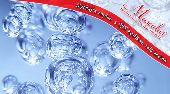 Fotka zľavy: DÝCHAJTE NAPLNO celú hodinu len za 4,80 €! Darujte svojim bunkám sviežosť a mladosť po celý deň s 95% kyslíkom. Oxygenoterapia so zľavou 70%.