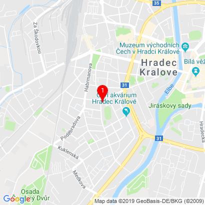 Veverkova 1343,Hradec Králové,500 02