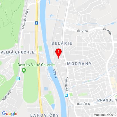 Modřanská 1097/25,Praha 4 - Modřany,143 00