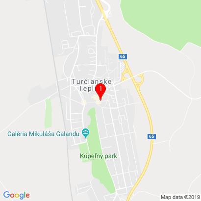 Partizánska 410/7,Turčianske Teplice,039 01