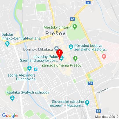 Hlavná 61,Prešov,080 01