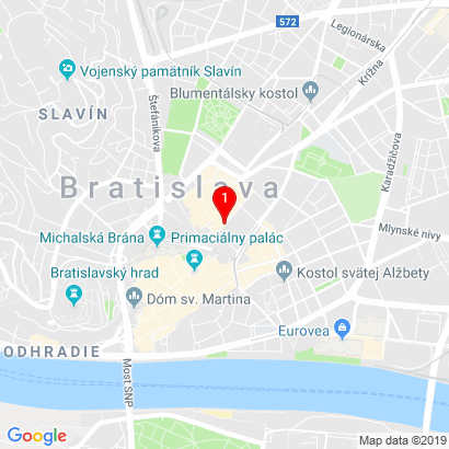 Heydukova 9,Bratislava - Staré Mesto,81108