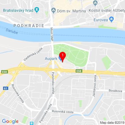 Einsteinova 24 Aupark Tower (2. poschodie),Bratislava,851 01
